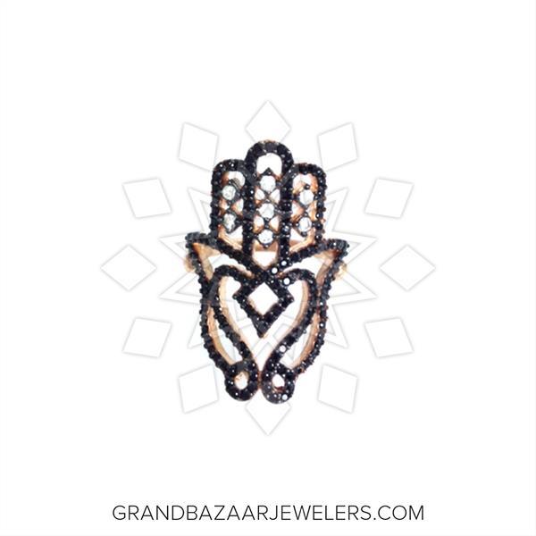 Hamsa Hand of Fatima Silver Rings