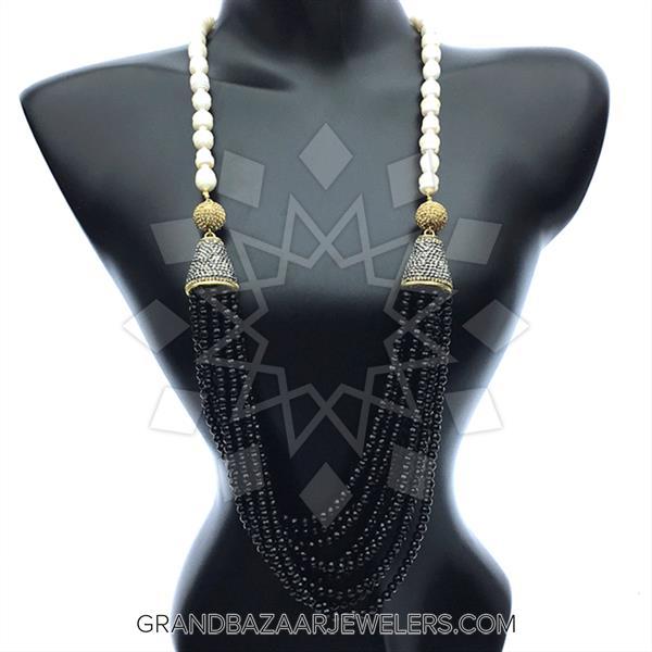 Multi Station Gemstone Necklace