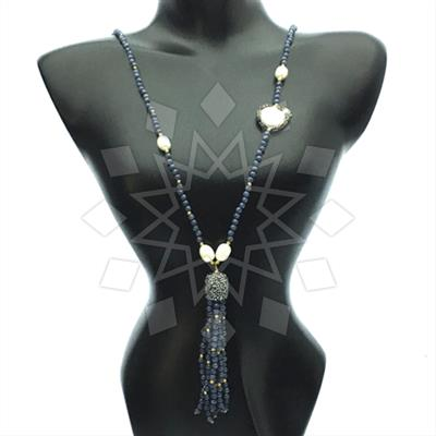 Multi Station Gemstone Tassel