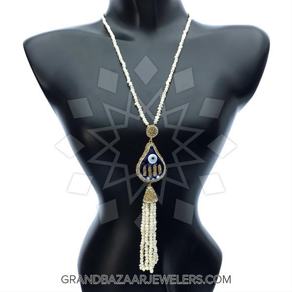 Murano Glass Evil Eye Necklace