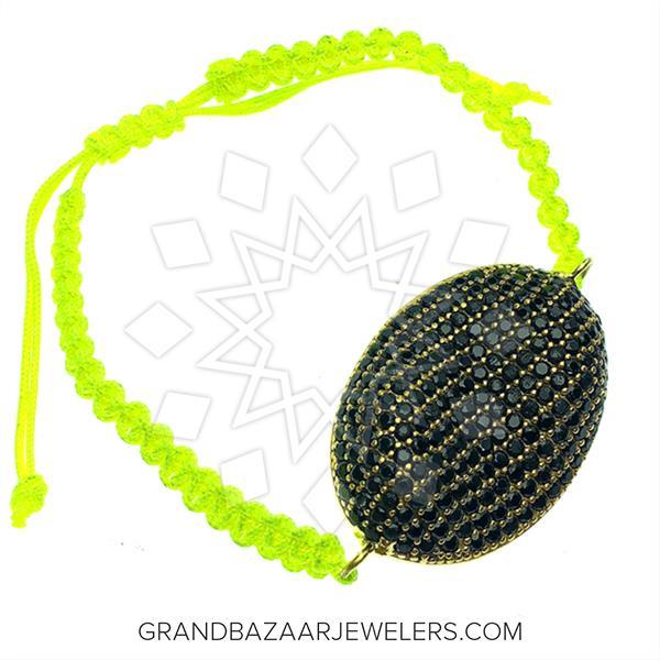 Pave Shapes Color Gemstone  Bracelets