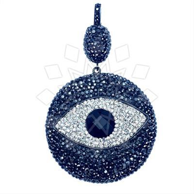 925 Silver Evil Eye Pendant
