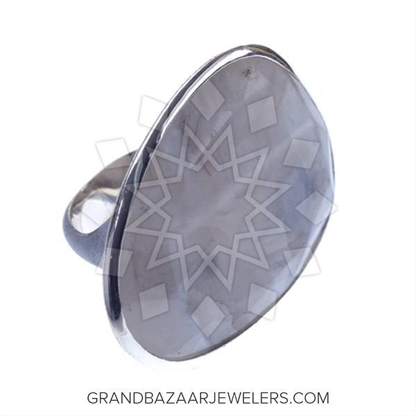 Slice Cut Color Gemstone  Rings