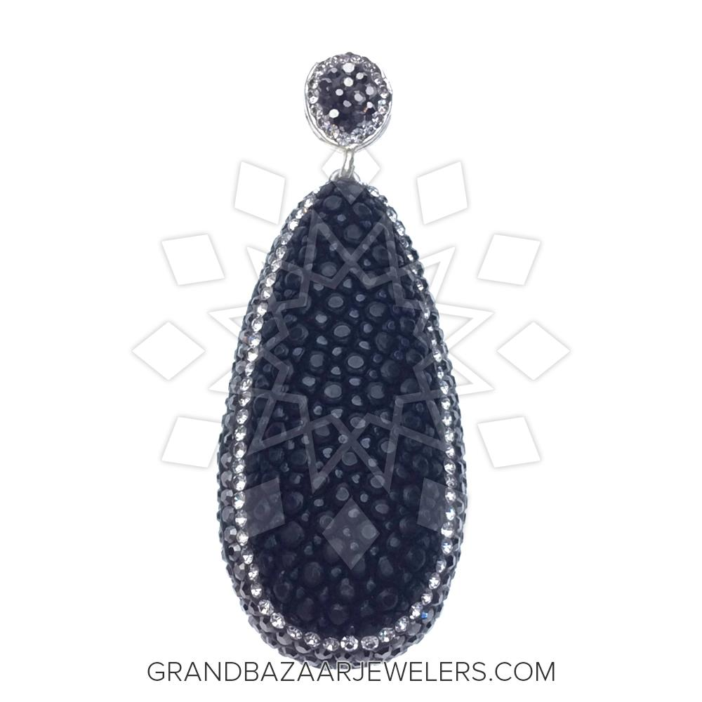 Stingray leather and gem pendant gbj291pd22187 stingray leather and gem pendant aloadofball Image collections