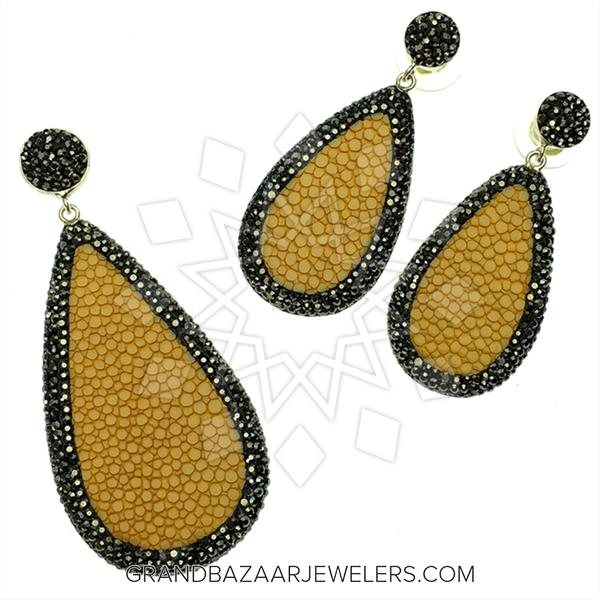 Stingray Leather and Gem Sets