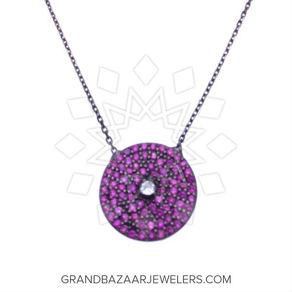 925 Silver Geometric Design Necklace