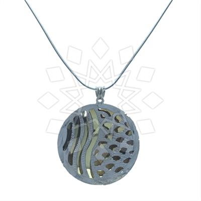 Symbols and Motifs Silver Pendant