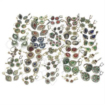 Ethnic Turkish Ottoman Jewelry Mixed Sets