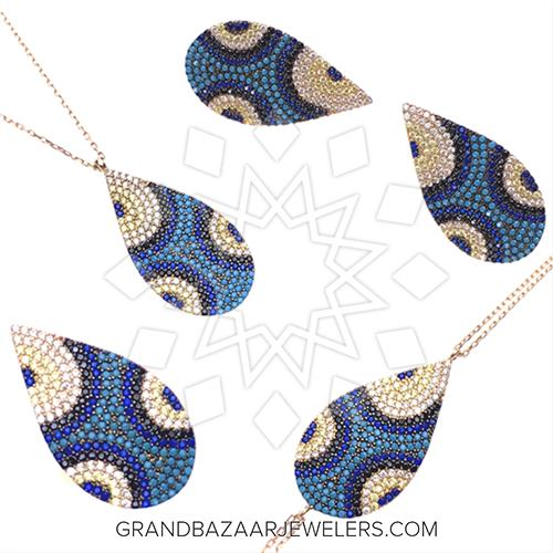 Customize Amp Buy 925 Silver Evil Eye Sets Online At Grand
