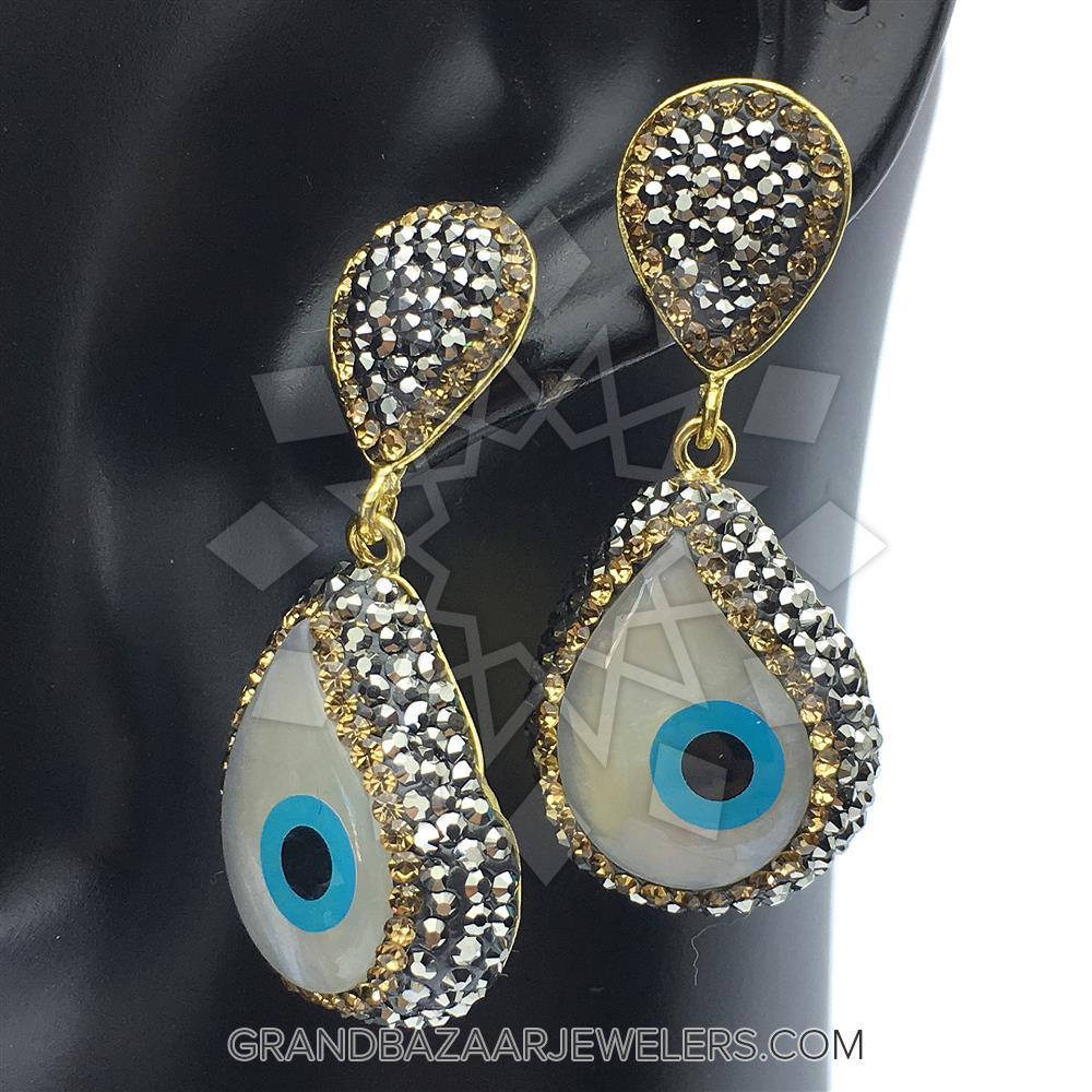 cbd1351ed Customize & Buy Evil Eye Fashion Jewelry Bijou Earrings- Evil Eye Online at Grand  Bazaar Jewelers - GBJ3ER6131-1
