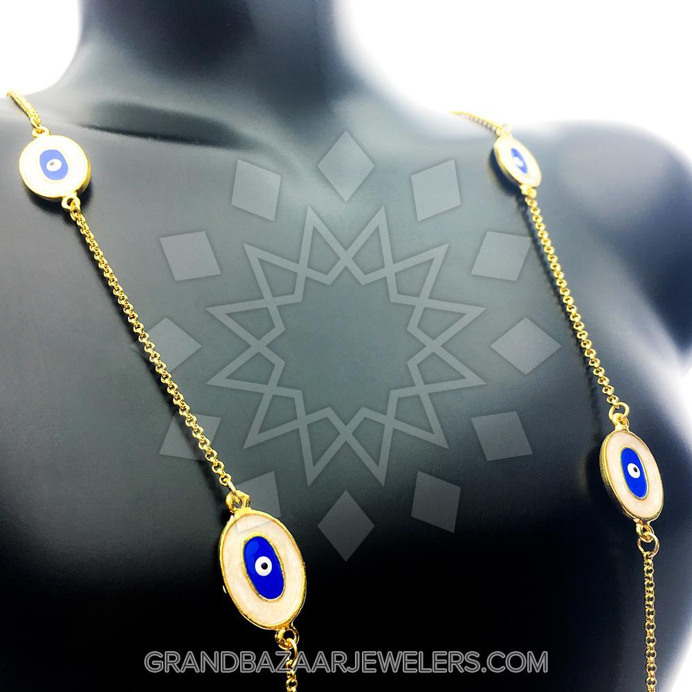 0950fd316 Customize & Buy Evil Eye Fashion Jewelry Bijou Evil Eye Multi Station  Necklaces 10 Mixed- Online at Grand Bazaar Jewelers - GBJ3NC7561-1