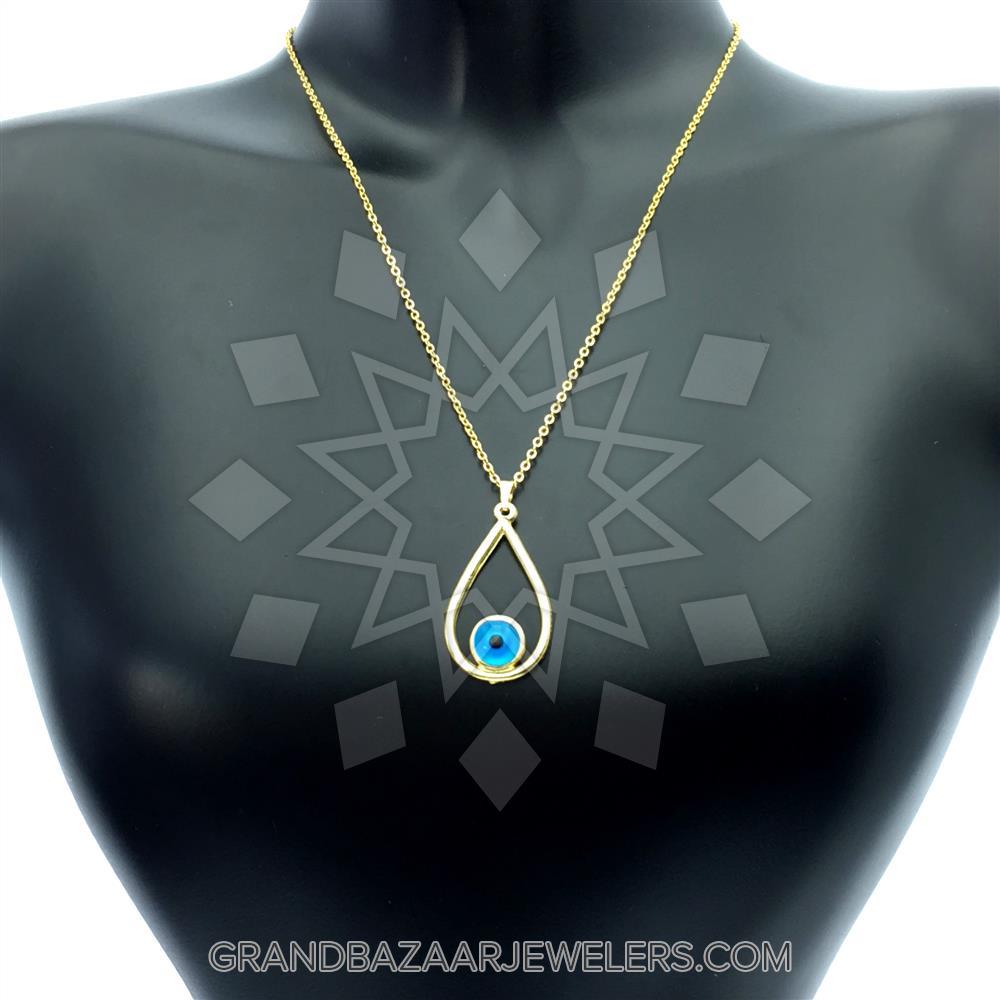 efb2a79a4 Customize & Buy Evil Eye Fashion Jewelry Bijou Necklace- Online at Grand  Bazaar Jewelers - GBJ3NC6183-1