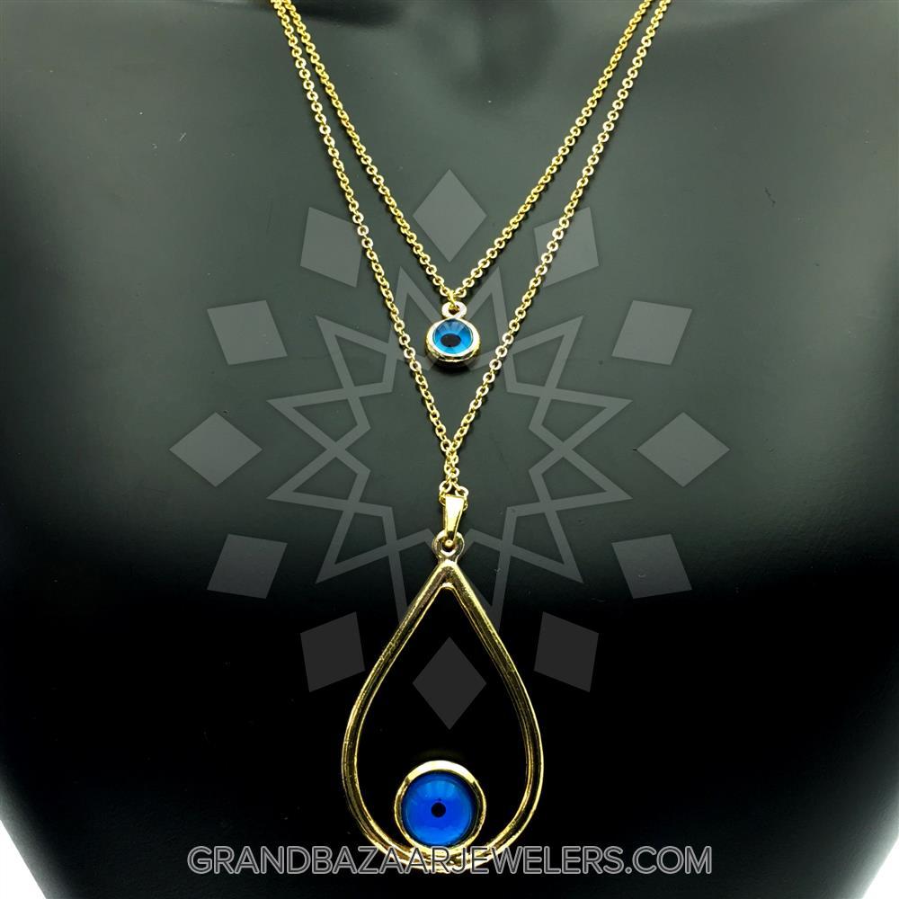 3a653918b Customize & Buy Evil Eye Fashion Jewelry Bijou Necklace- Online at Grand  Bazaar Jewelers - GBJ3NC6201-1