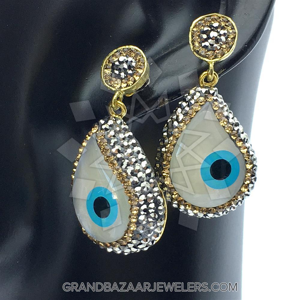 fa087279c Customize & Buy Evil Eye Fashion Jewelry Bijou Sets- Evil Eye Online at Grand  Bazaar Jewelers - GBJ3ST6133-1