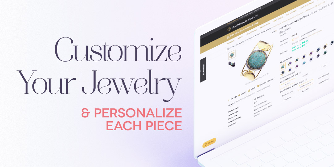 Customize Your Jewelry and Personalize Each Piece